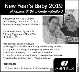 New Year's Baby 2019