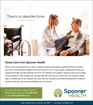 Home Care from Spooner Health