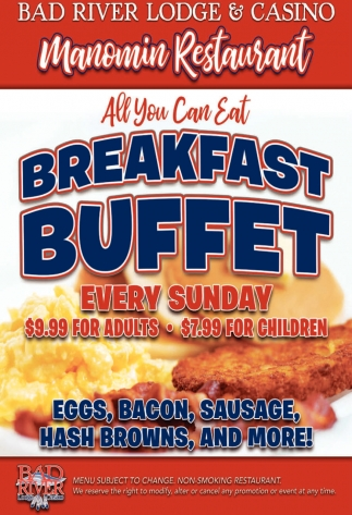 All You Can Eat Brealfast Buffet