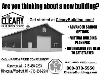 Are You Thinking About A New Building?