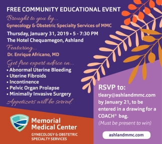 Free Community Educational Event