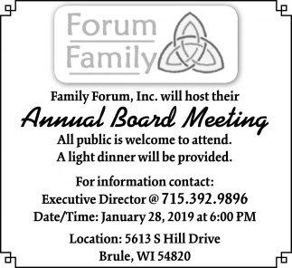 Annual Board Meeting