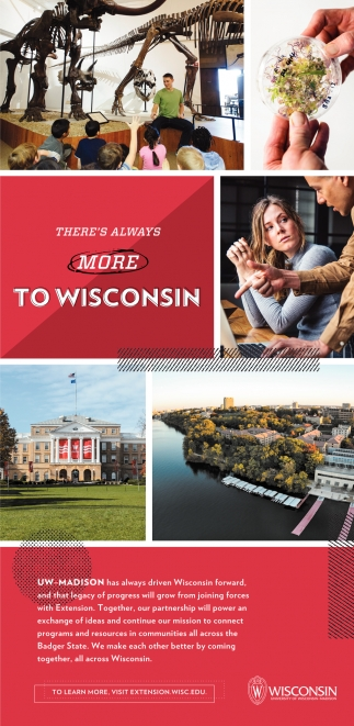 There's Always More To Wisconsin