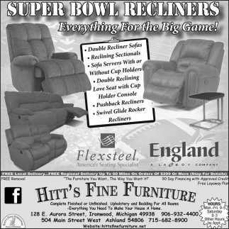 Super Bowl Recliners