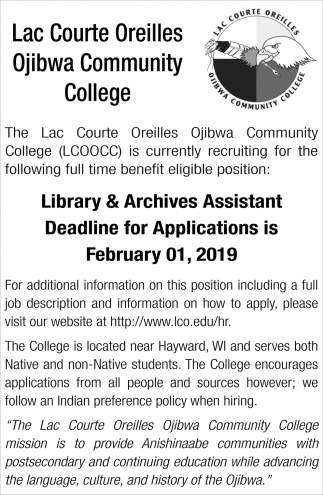 Library & Archives Assistant