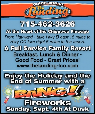 Enjoy the Holiday and te End of Summer with a BANG! Fireworks