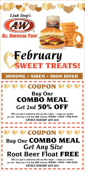 February Sweet Treats