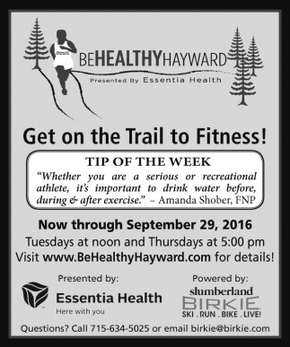 Get on the Trai to Fitness!
