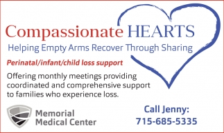 Perinatal, infant, child loss support