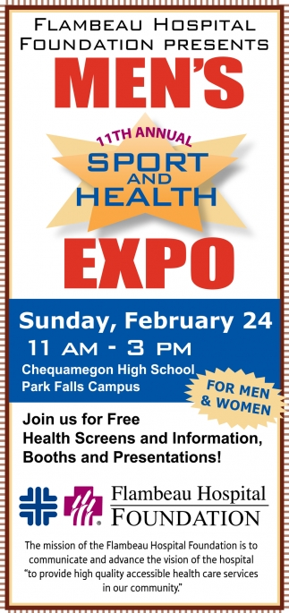 Join us for Free Health Screens and Information, Booths and Presentations!