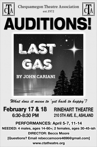 Auditions Last Gas
