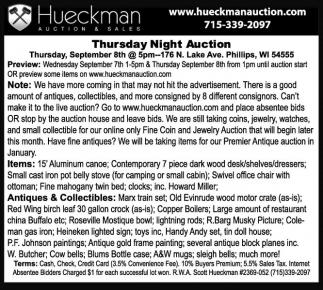 www.hueckmanauction.com