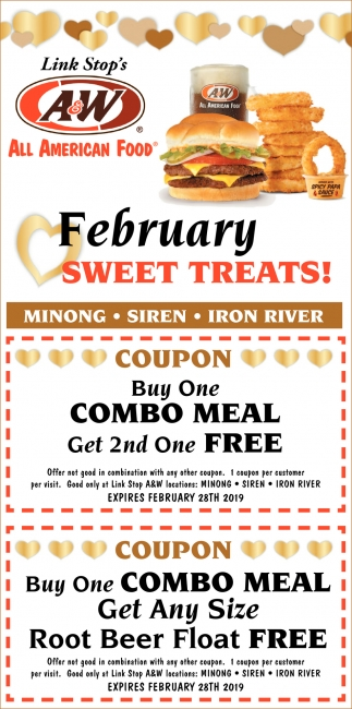 February Sweet Treats
