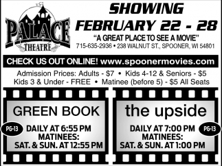 Showing February 22 - 28