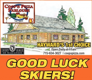 Good Luck Skiers!