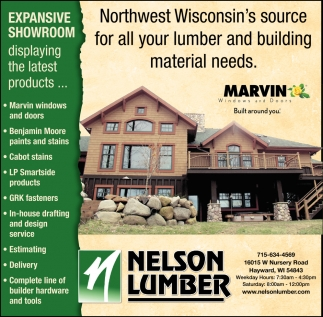 For all your lumber and building materials needs