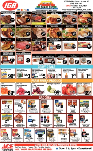 Meat, Dairy, Produce, Grocery