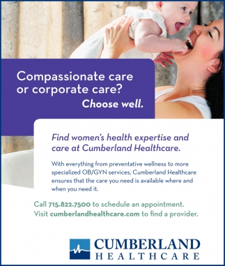 Compassionate care or corporate care? Choose well.