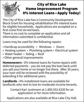 Home Improvement Program