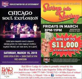 Chicago Soul Explosion / Swing into Spring