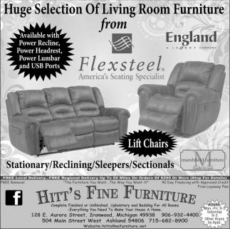 Living Room Furniture from Flexteel