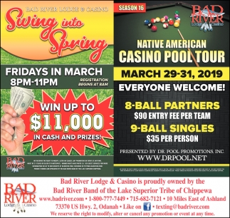 Swing into Spring / Native American Casino Pool Tour