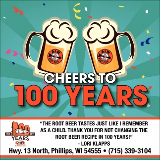 Cheers to 100 years