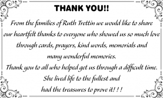 Families of Ruth Trettin