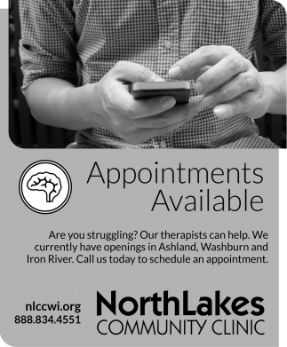 Appointments Available