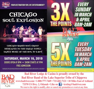 Chicago Soul Explosion / 3X The Points 5X The Points