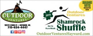2019 Outdoor Ventures 5k/1k Run/Walk Shamrock Shuffle