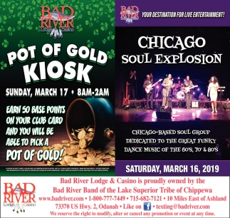 Pot of Gold Kiosk / Chicago Soul Explosion