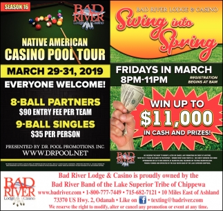 Native American Casino Pool Tour / Swing into Spring