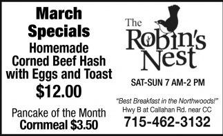 Homemade Corned Beef Hash with Eggs and Toast $12.00