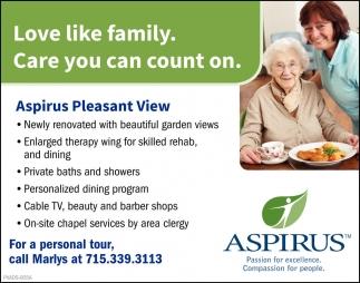 Aspirus Pleasant View