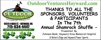 Thanks to all the sponsors, volunteers & participants