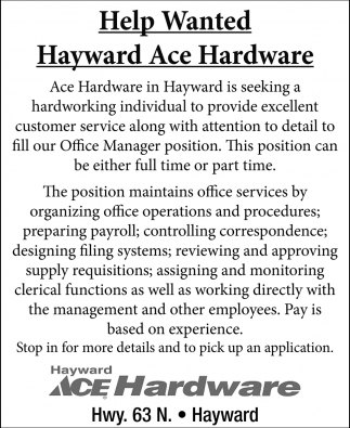 Office Manager Position