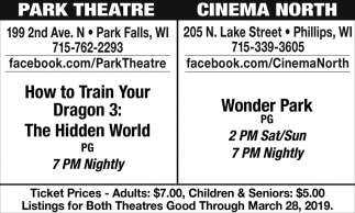 How to Train Your Dragon 3 / Wonder Park