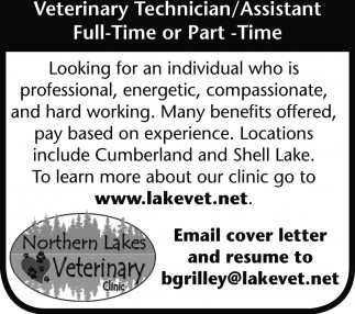 Veterinary Technician / Assistant