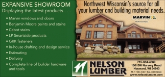 Northwest Wisconsin's source for all your lumber and building material needs