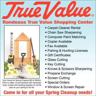 Come in for all your Spring Cleanup needs!