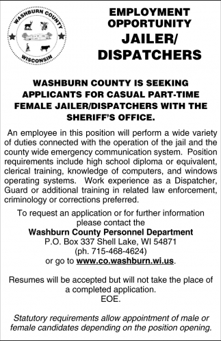 Jailer / Dispatchers