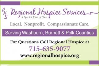 Local. Nonprofit. Compassionate Care