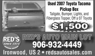 Used 2007 Toyota Tacoma Pickup Box
