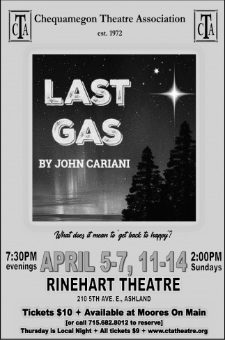 Last Gas by John Cariani