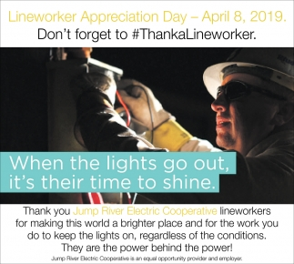 Lineworker Appreciation Day