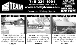 Just Listed, Country Living