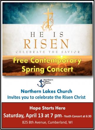 Free Contemparary Spring Concert