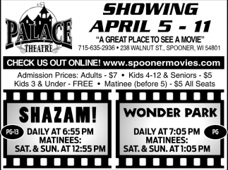 Showing April 5 - April 11
