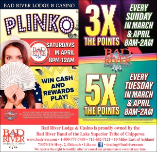 Plinko / 3X The Points 5X The Points